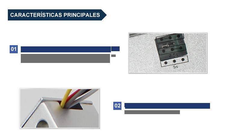 Características electropistón