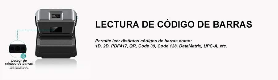 PDA Código de barras IN-AT