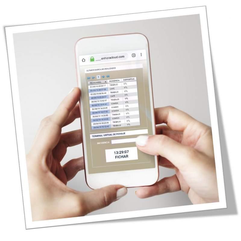 Fichar desde smartphone para comerciales y teletrabajadores