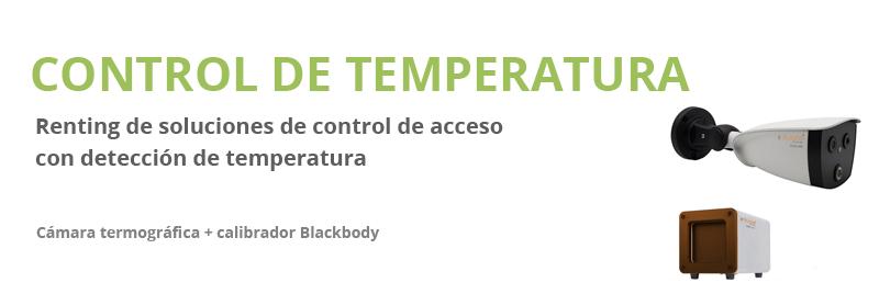 Renting de equipos de control de temperatura