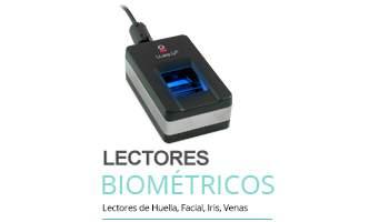 Menú Lectores Biométricos